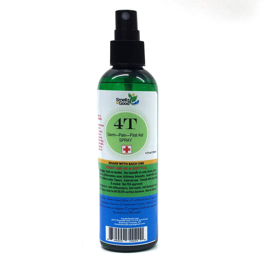 Germ Fighting - 4T Thief Oil Spray