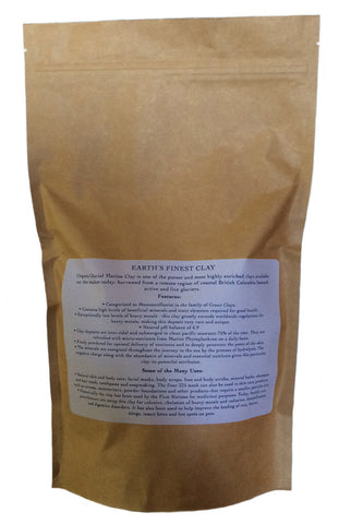 Canadian Glacial Marine Clay - 8 oz (225 gm) - 325 Mesh