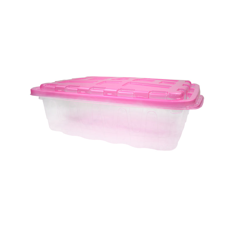 Caja Multiusos 40 x 30 x 12.5cm color Rosa