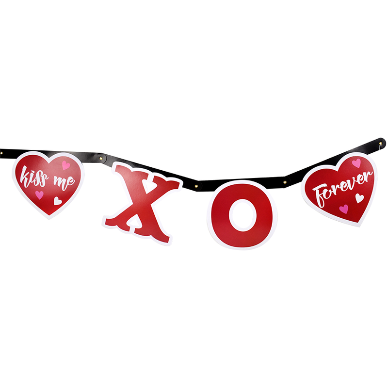 Banner Decorativo Figuras LOVE