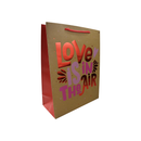Bolsa Kraft para Regalo LOVE