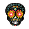 HW20 Day Of The Dead Paper Plate (4749504053297)