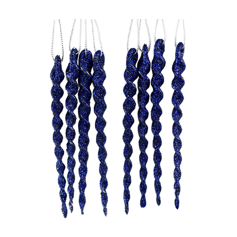 Set de Carámbanos Decor Color Azul Rey (4760515248177)