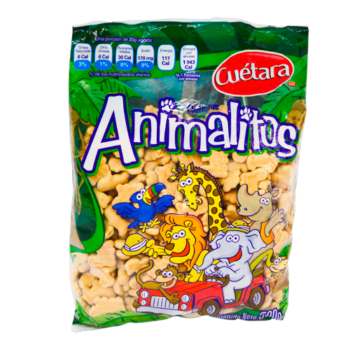 Galletas Animalitos Cuétara 500g (4609492451377)