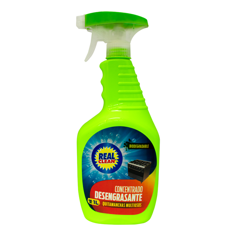 Desengrasante Multiusos Real Clean 1L (4622444167217)