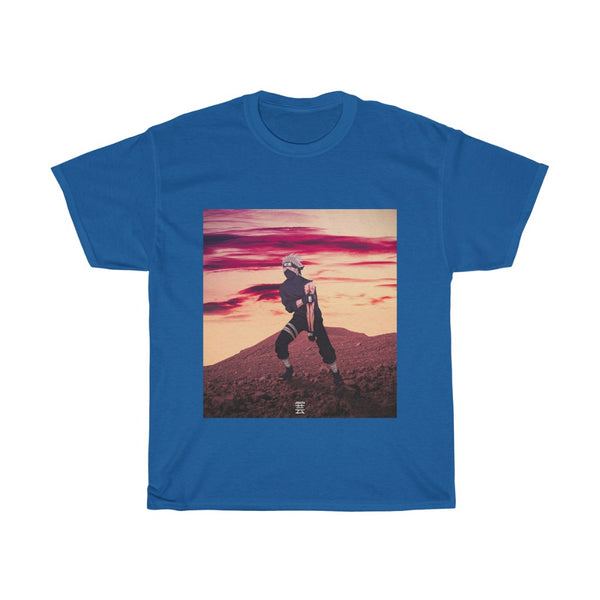 Kakashi x Sunset Edit Unisex Heavy Cotton Tee