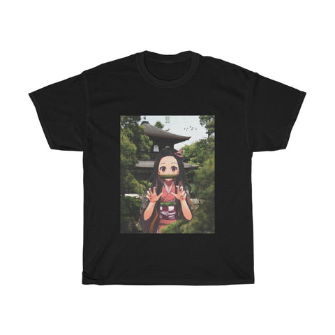 Nezuko Edit Unisex Heavy Cotton Tee