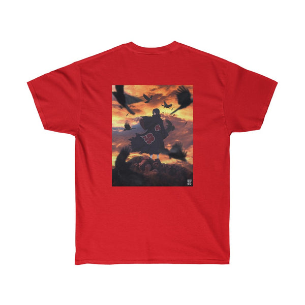 Itachi x crow Backprint Unisex Ultra Cotton Tee