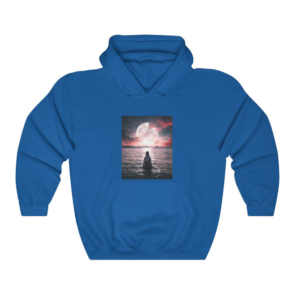 Sasuke x Moon Edit Unisex Heavy Blend™ Hooded Sweatshirt