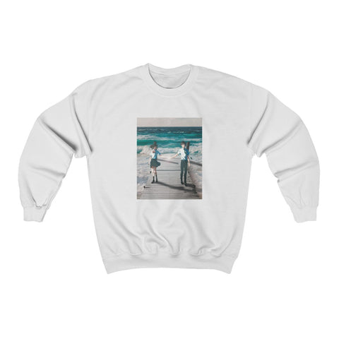 Your Name x Wave Edit Unisex Heavy Blend™ Crewneck Sweatshirt
