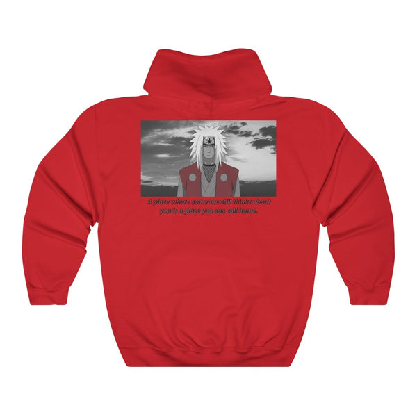 Jiraiya x Quote Unisex Heavy Blend™ Hooded Sweatshirt