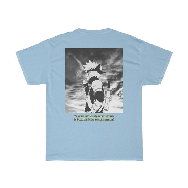 Kakashi x Quote Unisex Heavy Cotton Tee