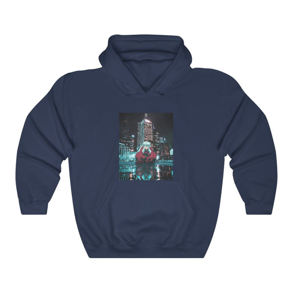 Inuyasha x Urban Edit Unisex Heavy Blend™ Hooded Sweatshirt