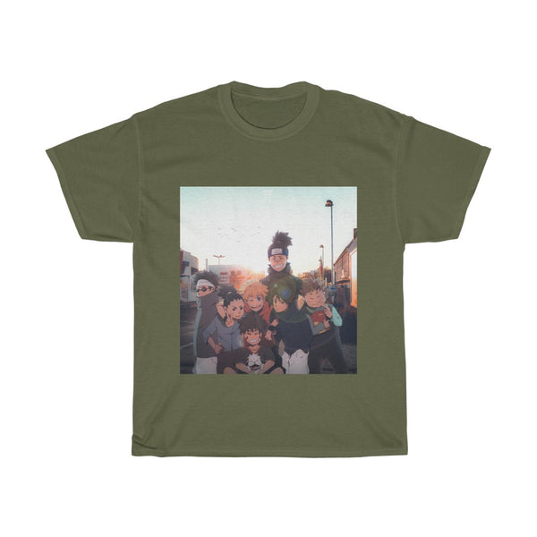 Iruka and the boys Edit Unisex Heavy Cotton Tee