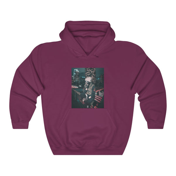 Kakashi x Urban Edit Unisex Heavy Blend™ Hooded Sweatshirt