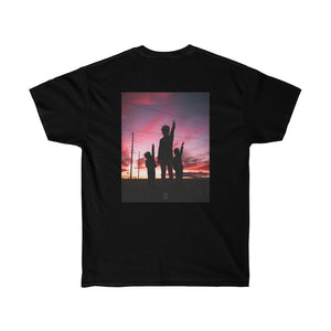 Sasuke x Naruto x Kakashi Backprint Unisex Ultra Cotton Tee