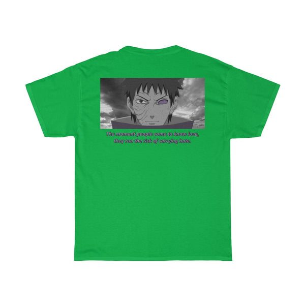 Obito x Quote Unisex Heavy Cotton Tee