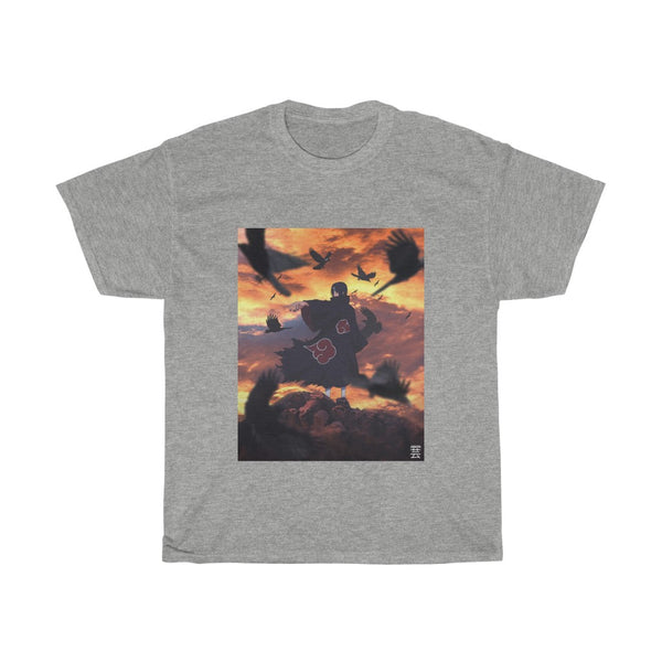 Itachi x Crow Edit Unisex Heavy Cotton Tee