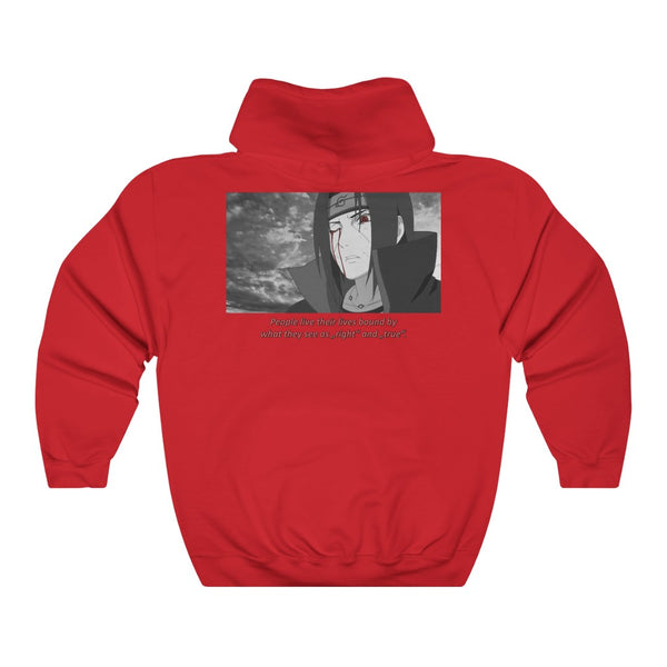 Itachi x Quote Unisex Heavy Blend™ Hooded Sweatshirt