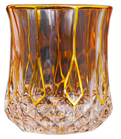 Twist Whiskey Glass Unique Elegant Old Fashioned Whiskey Glass#4