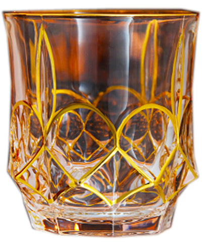 Twist Whiskey Glass Unique Elegant Old Fashioned Whiskey Glass#6