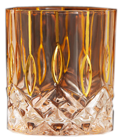 Twist Whiskey Glass Unique Elegant Old Fashioned Whiskey Glass#8