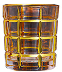 Twist Whiskey Glass Unique Elegant Old Fashioned Whiskey Glass#12