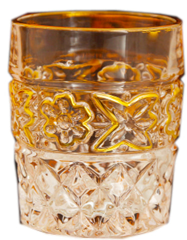 Twist Whiskey Glass Unique Elegant Old Fashioned Whiskey Glass#16