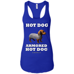ARMORED HOT DOG - RACERBACK TANK