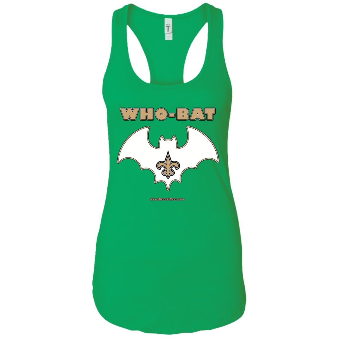 WHO-BAT - VERSION B - RACERBACK TANK TOP