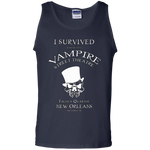 I SURVIVED VAMPIRE STREET THEATRE - MUSCLE SHIRT