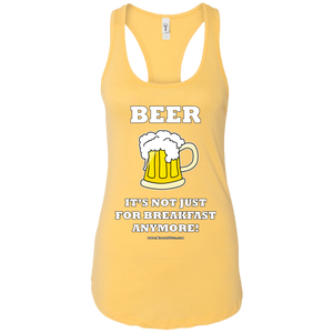 BREAKFAST BEER - RACERBACK TEE