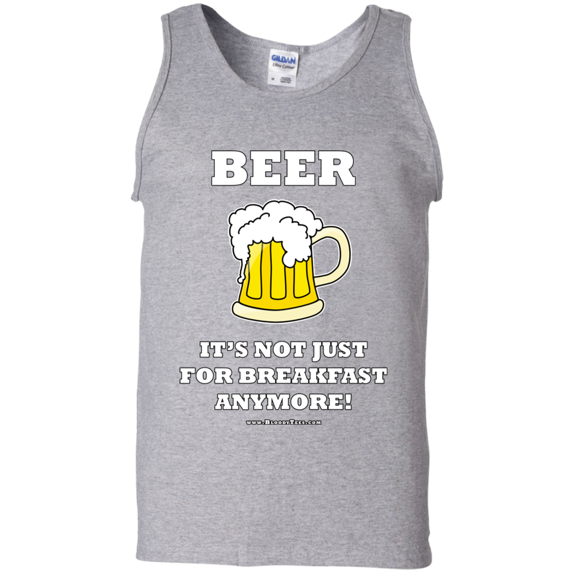 BREAKFAST BEER - MUSCLE SHIRT