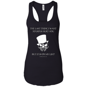 THE LAST THING - RACERBACK TANK TOP