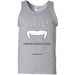 I BITE! - FANGS - MUSCLE SHIRT