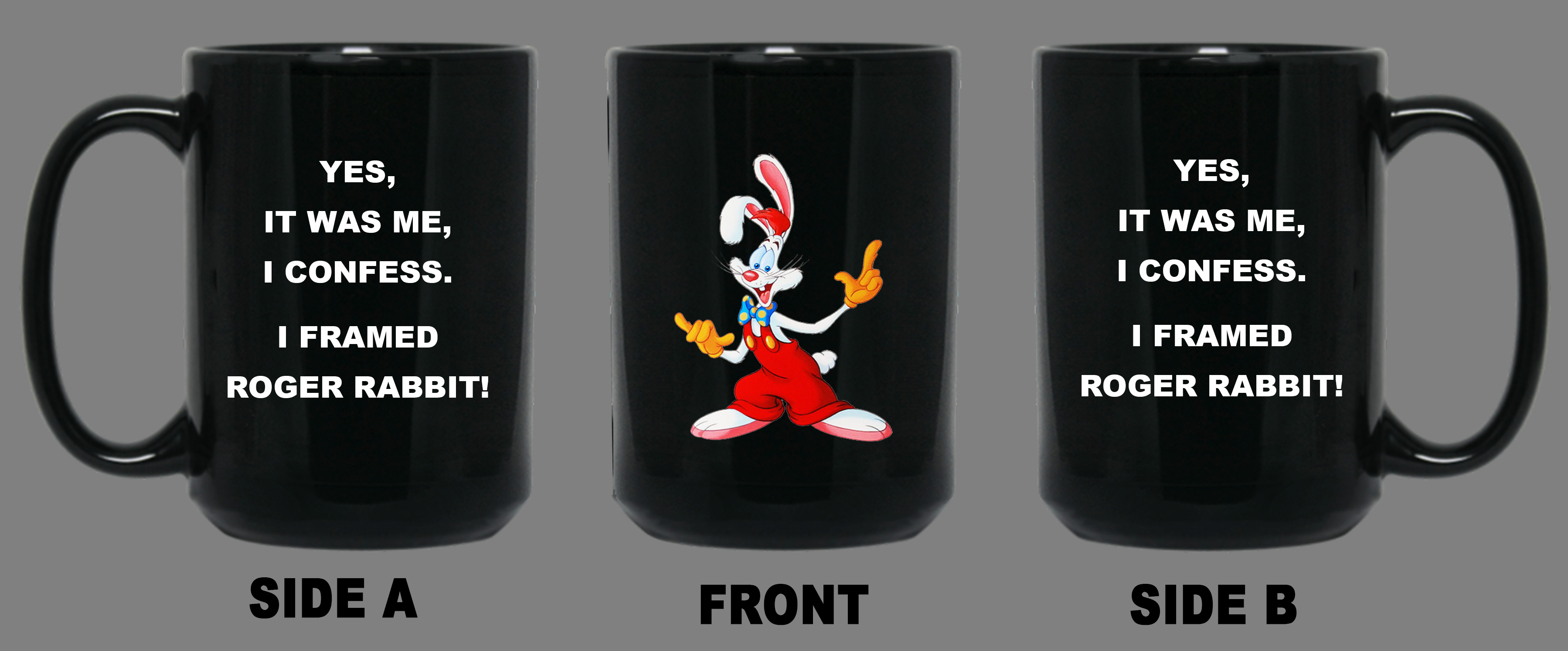 I FRAMED ROGER RABBIT 15oz MUG