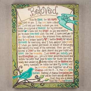 Beloved Canvas by Glory Haus