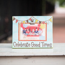 Celebrate Good Times Clip Frame