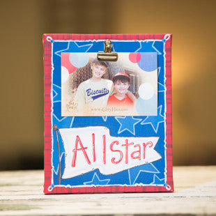 All Star Clip Frame by Glory Haus