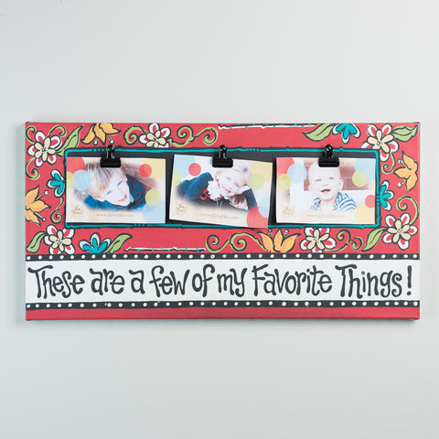 Favorite Things Clip Frame