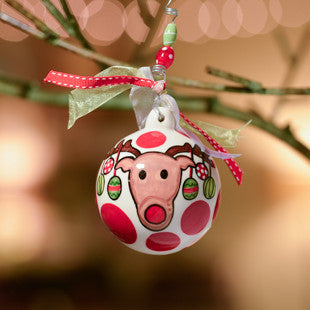 Reindeer Decorate Ornament by Glory Haus