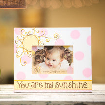 You are My Sunshine Girl Frame