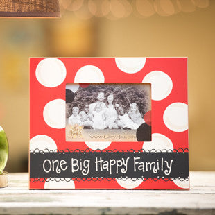 One Big Happy Family Frame by Glory Haus