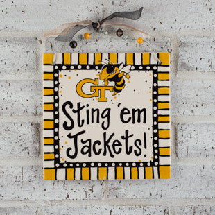 Georgia Tech Ceramic Tile by Glory Haus