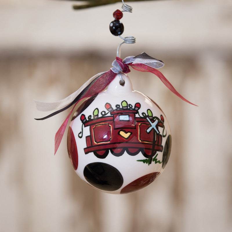 South Carolina Ball Ornament by Glory Haus