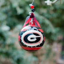 Georgia Stripe Ornament