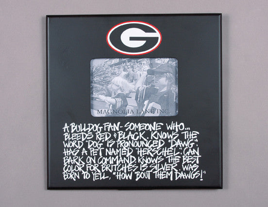 Georgia Bulldog Definition Frame by Magnolia Lane