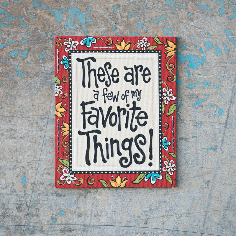 Favorite Things Magnet