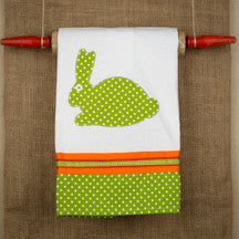 Bunny Color Tea Towel by Glory Haus