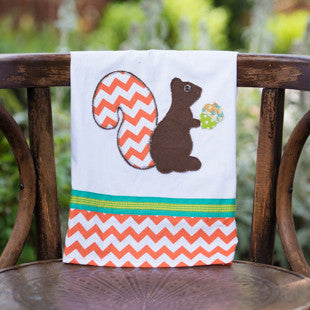 Squirrel Tea Towel by Glory Haus